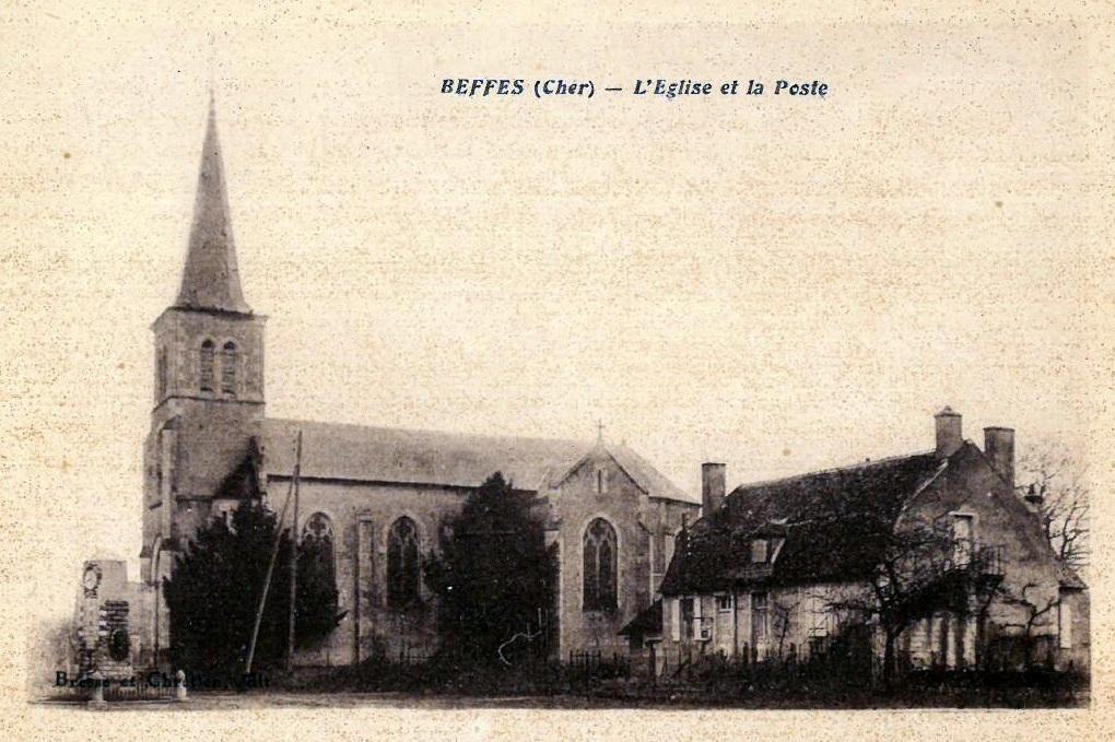 L'église et la Poste