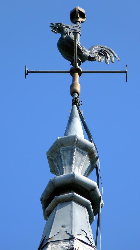 Le coq de l'église