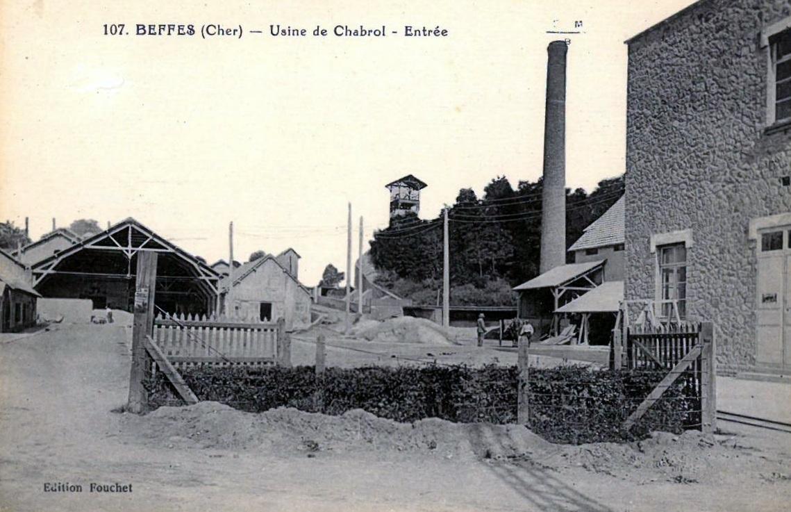Usine de Chabrolles