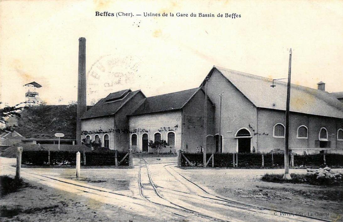 Usine de la Gare du bassin de Beffes 2