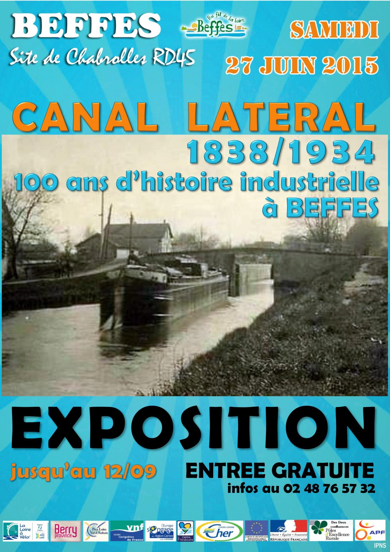 Affiche expo canal 1