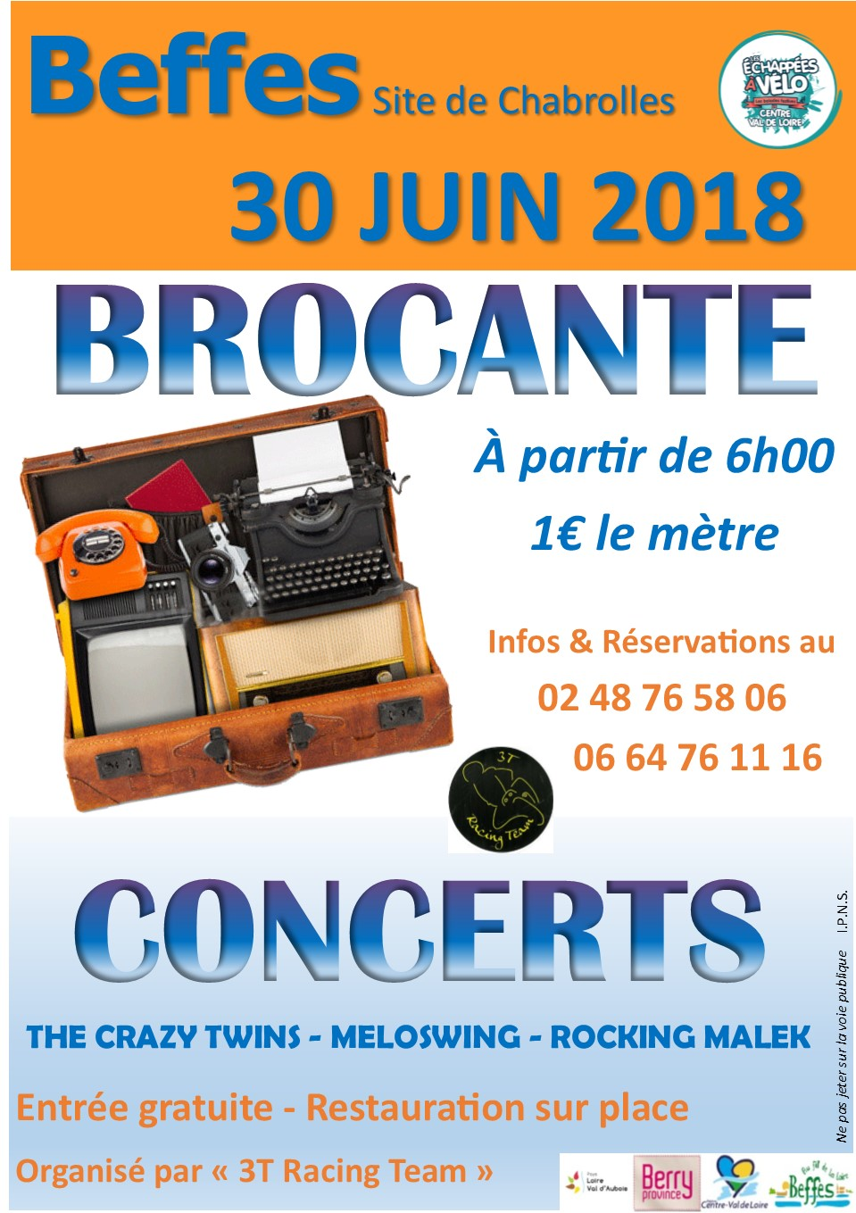 Brocante 3t racing team 2018