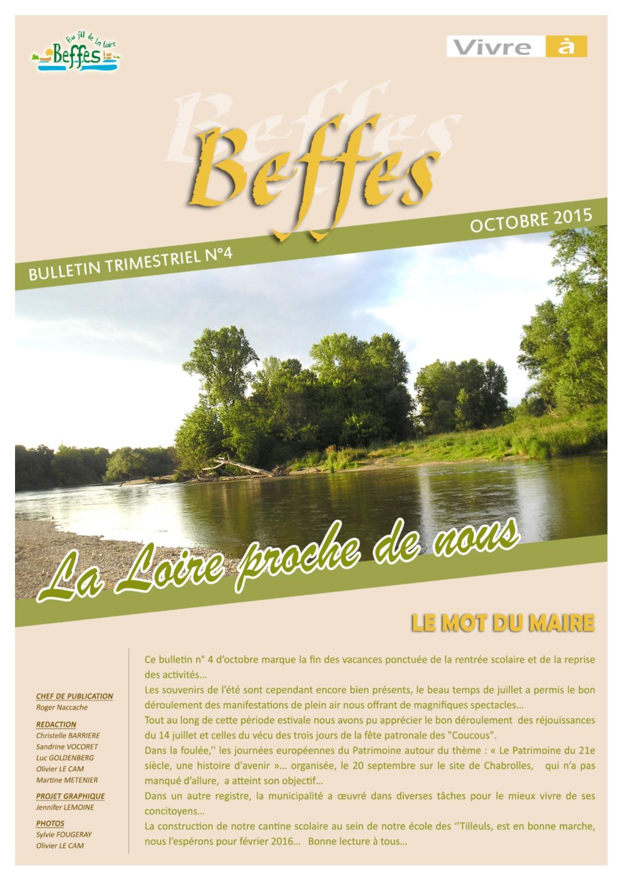 Bulletin cotobre 2015