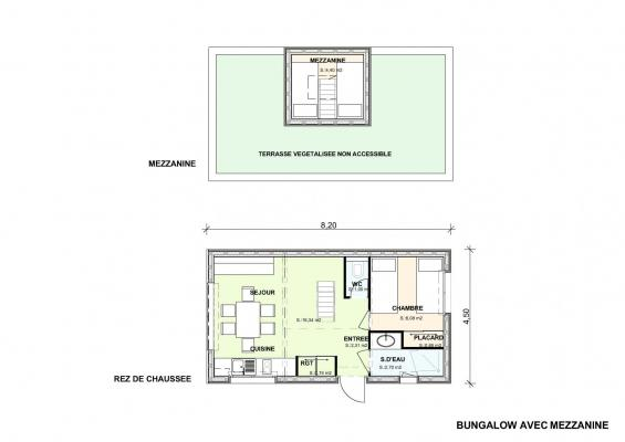 Bungalow plan