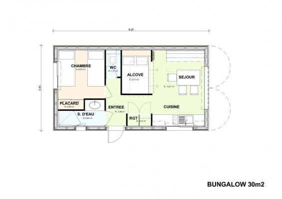 Bungalow rez 1