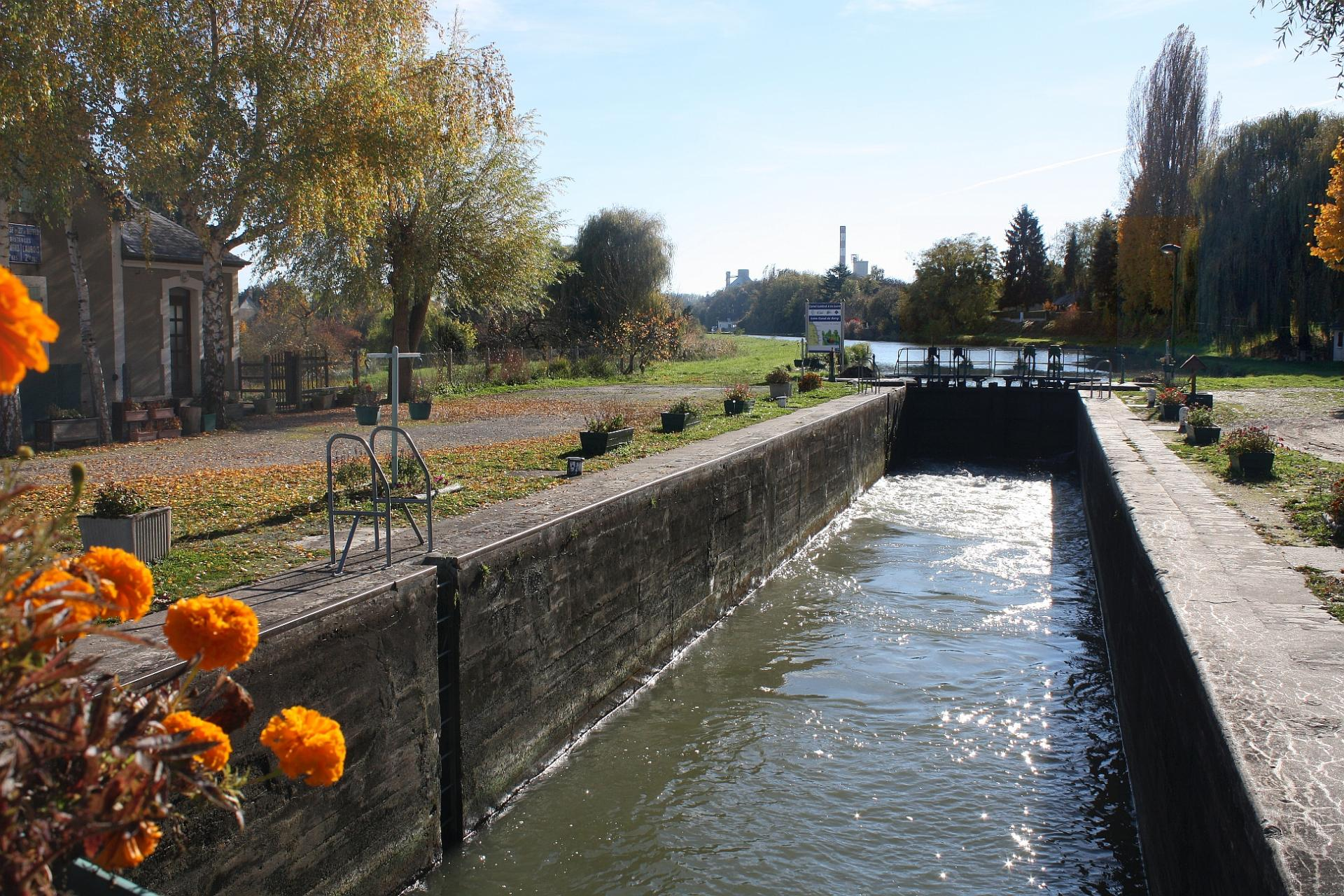 Ecluse canal beffes