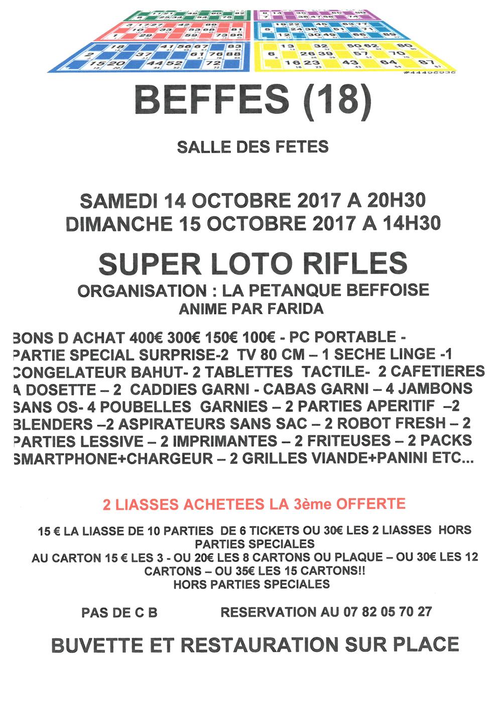 Rifles petanque