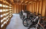 ranger en sureté votre vélo, accès facile, 20 à 30 places