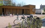 garage à vélo sécurisé, grand espace idéal pour groupe